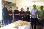 Wine and Cheese tasting at Goldie Room