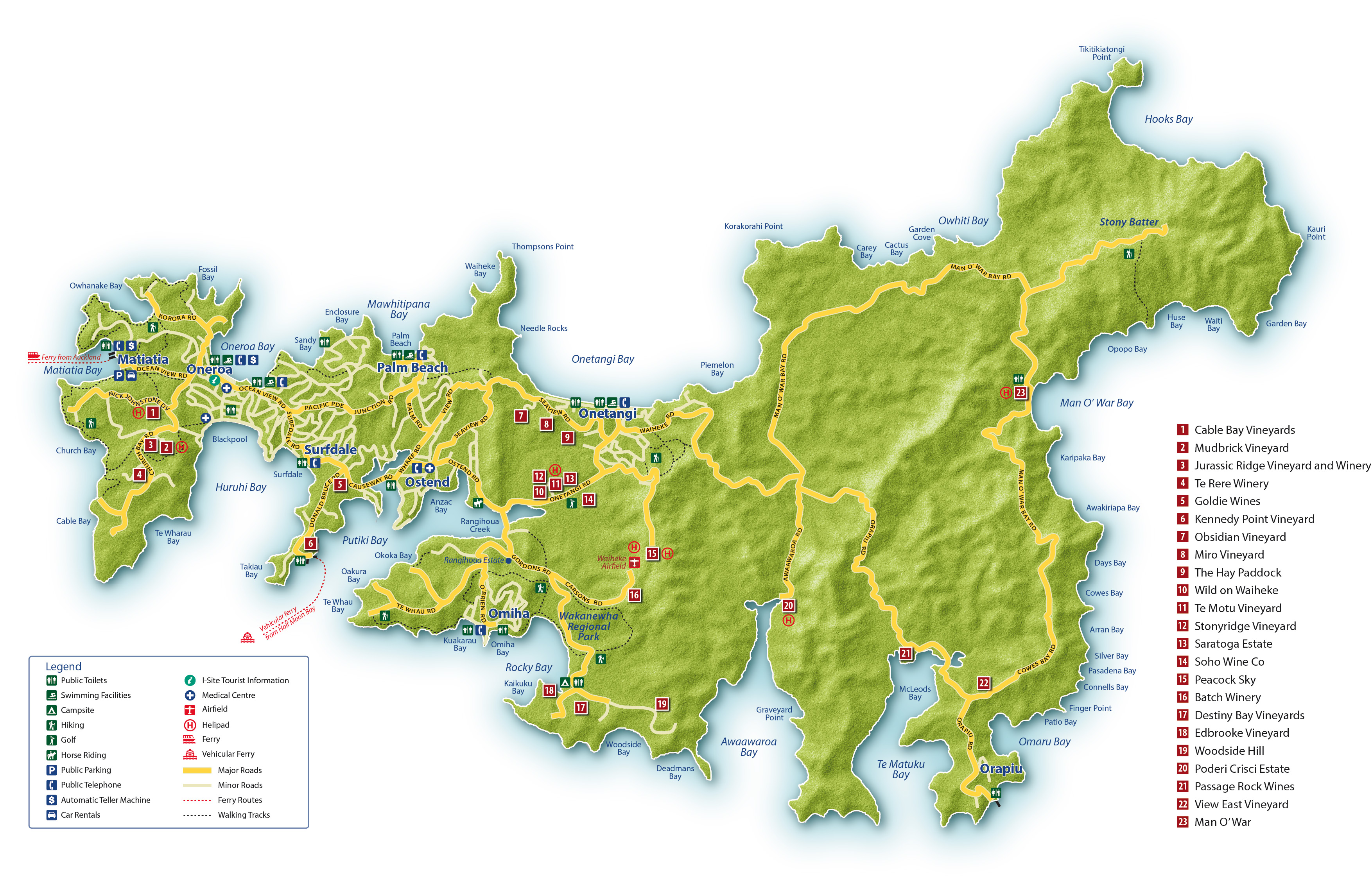 Our Region Waiheke Island Of Wine
