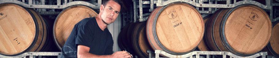 Winemaker Mike Wood