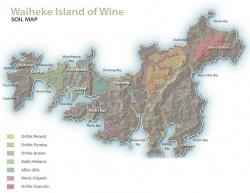 Waiheke Soil Map